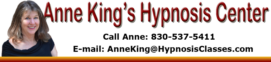 Anne King Hynosis Center Boerne Texas.